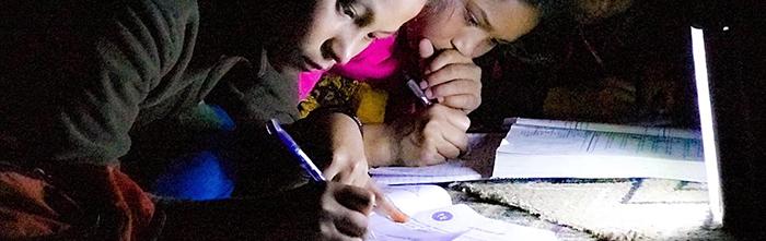 hostel students studying